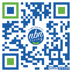 QR code with logo 31Sv0