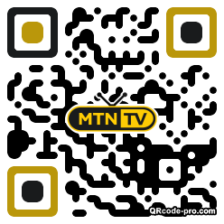 QR code with logo 31bw0