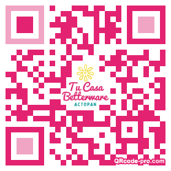 QR code with logo 32ZB0