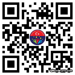 QR code with logo 32fp0