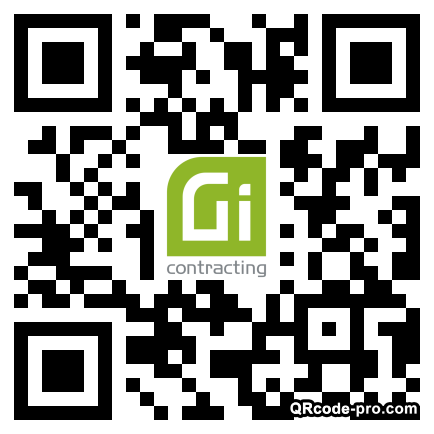QR code with logo 330P0