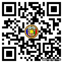 QR code with logo 33290