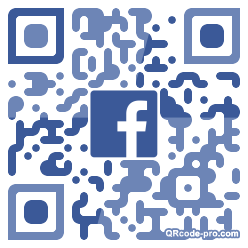 QR code with logo 332Q0