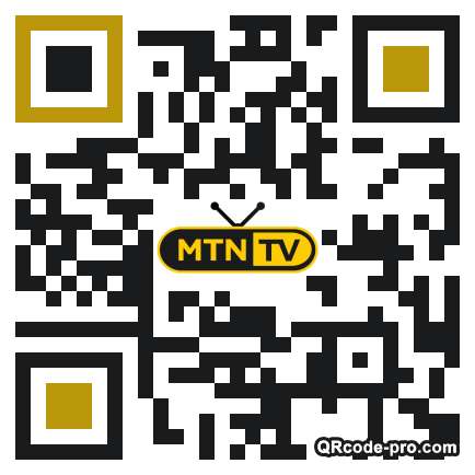 QR code with logo 33350