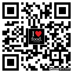 QR code with logo 33610