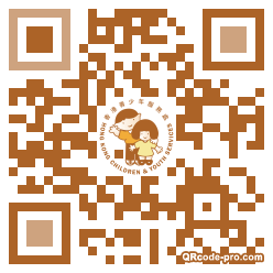 QR code with logo 33BR0