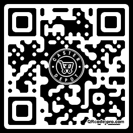 QR code with logo 33Bd0