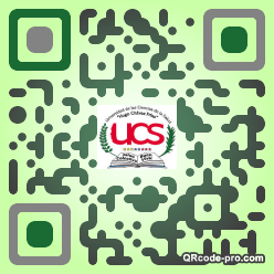 QR code with logo 33F90
