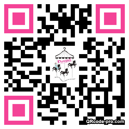 QR code with logo 33Gn0