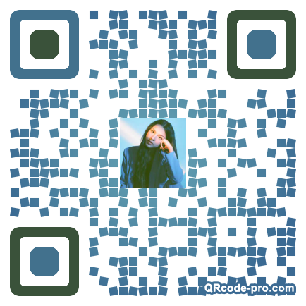 QR code with logo 33K40