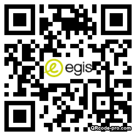 QR code with logo 33Kp0
