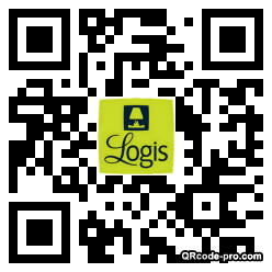 QR code with logo 33Mr0