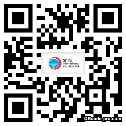 QR code with logo 33Mv0