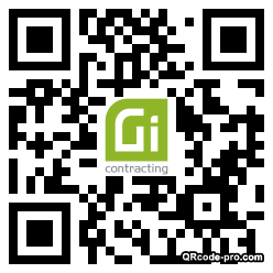 QR code with logo 33RB0