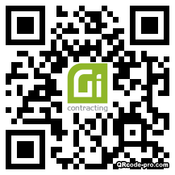 QR code with logo 33Rp0