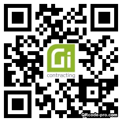QR code with logo 33Rr0