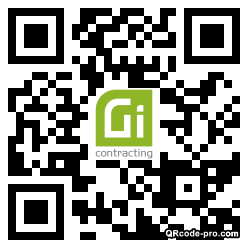 QR code with logo 33Rt0