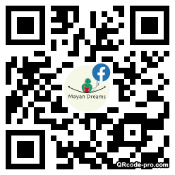QR code with logo 33Wb0