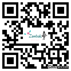 QR code with logo 33Z70