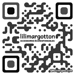 QR code with logo 33cm0