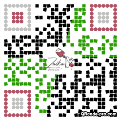 QR code with logo 33in0