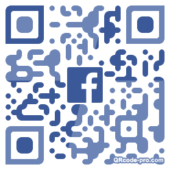 QR code with logo 33mg0