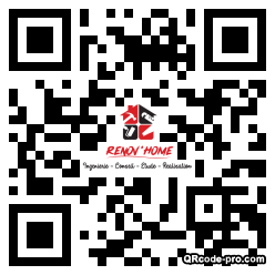 QR code with logo 33p50