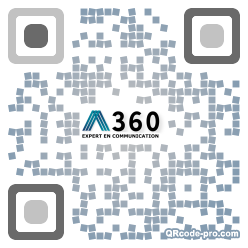QR code with logo 33pv0