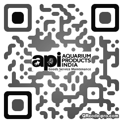 QR code with logo 33tG0