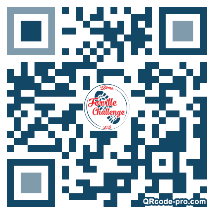 QR code with logo 33yh0