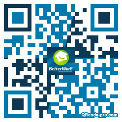 QR code with logo 342R0