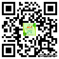 QR code with logo 344m0