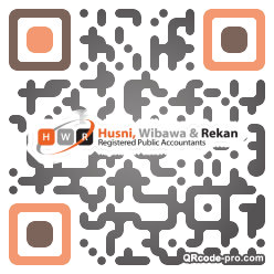 QR code with logo 34560