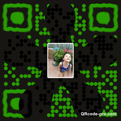 QR code with logo 346Z0
