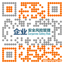 QR code with logo 347h0