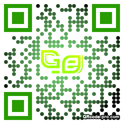 QR code with logo 348Z0