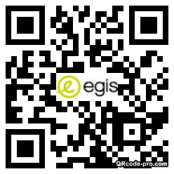 QR code with logo 348i0