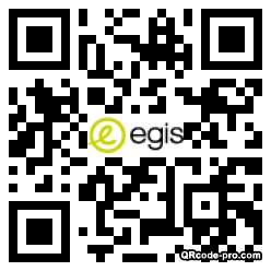 QR code with logo 348m0