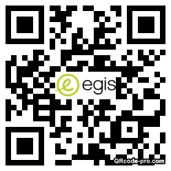 QR code with logo 348v0