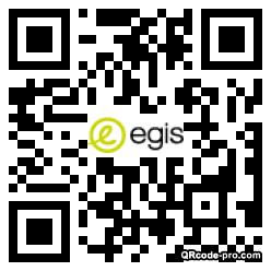 QR code with logo 348w0