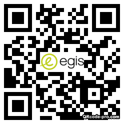 QR code with logo 348x0