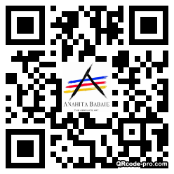 QR code with logo 34900