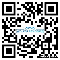 QR code with logo 349k0