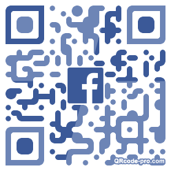 QR code with logo 34Bv0