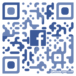 QR code with logo 34Ca0