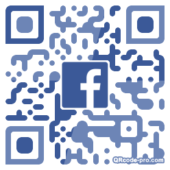 QR code with logo 34Cr0