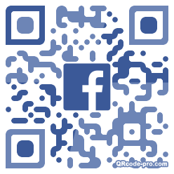 QR code with logo 34DF0
