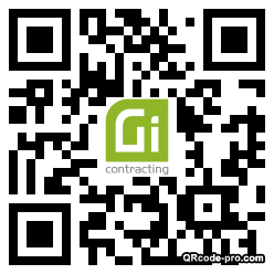 QR code with logo 34DL0