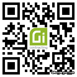 QR code with logo 34DO0