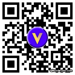 QR code with logo 34DW0